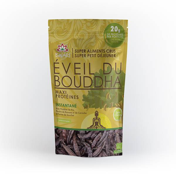 Iswari Eveil du Bouddha Maxi Protéines Bio 360g