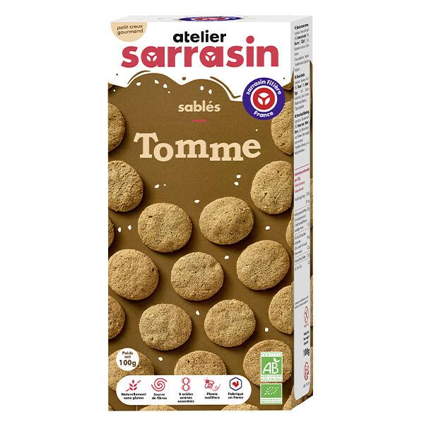 Atelier Sarrasin Sablés à la Tomme Bio Sans Gluten 100g