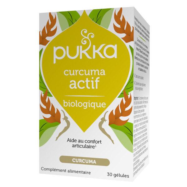Pukka Curcuma Actif Bio 30 gélules