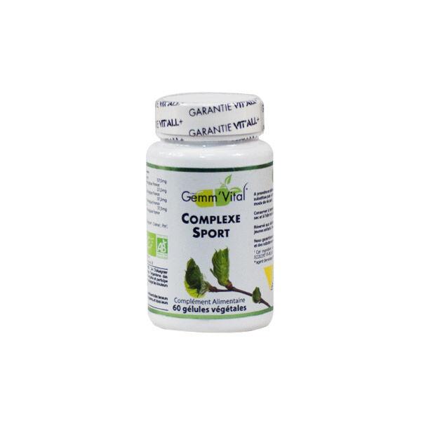 Vit'all+ Complexe Sport Bio 60 gélules végétales