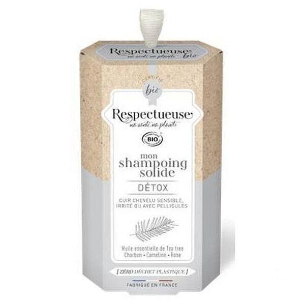 Respectueuse Mon Shampooing Solide Detox Bio 75g