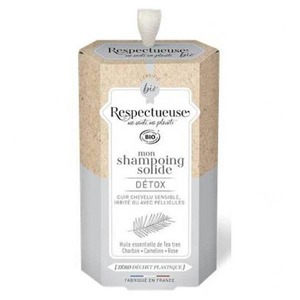 Respectueuse Mon Shampooing Solide Detox 75g