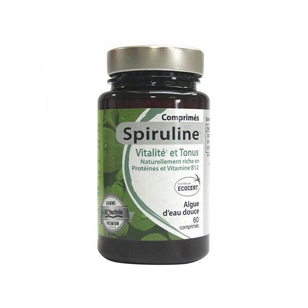Biotechnie Spiruline 60 comprimés