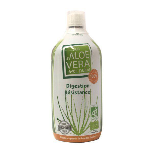 Biotechnie Jus d'Aloe Vera avec Pulpe 1L