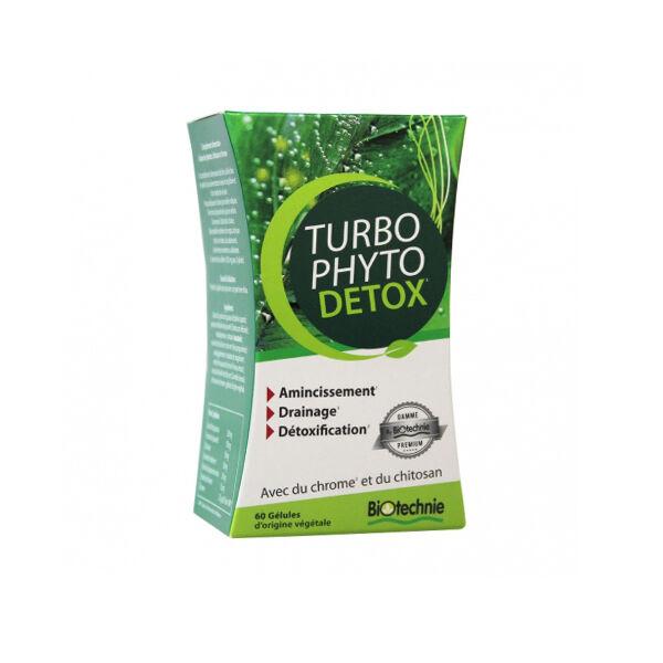 Biotechnie Turbo Phyto Détox 60 gélules