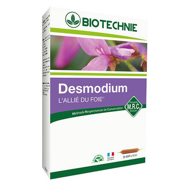 Biotechnie Desmodium 20 ampoules