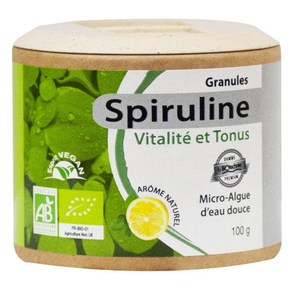 Biotechnie Spiruline Granulés Bio 100g