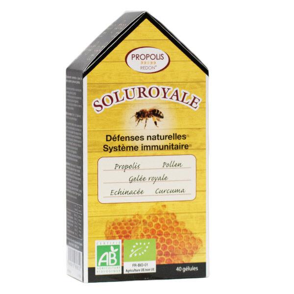 Redon Propolis Soluroyale Bio 40 gélules