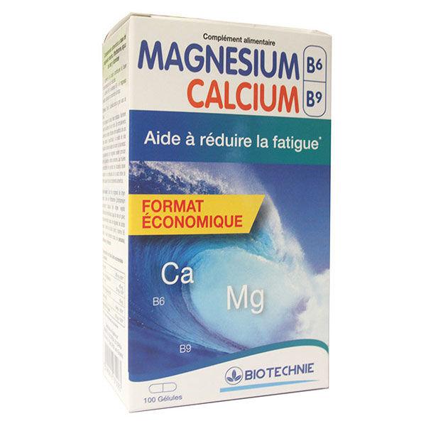 Biotechnie Magnésium Calcium 100 gélules