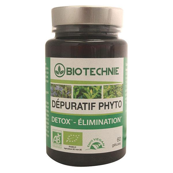 Biotechnie Dépuratif Phyto 32 Bio 60 gélules