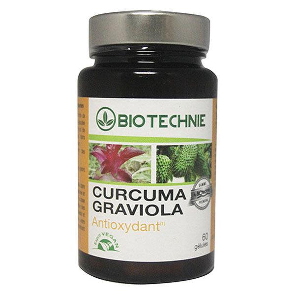 Biotechnie Curcuma Graviola 60 gélules