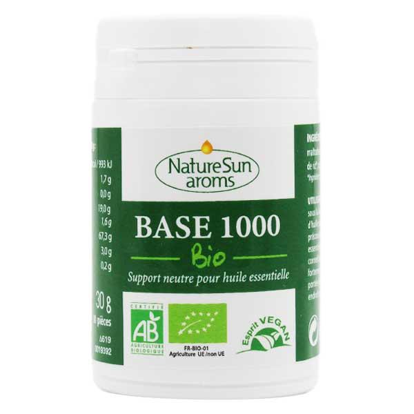 NatureSun Aroms Nature Sun Aroms Base 1000 Bio 30 comprimés