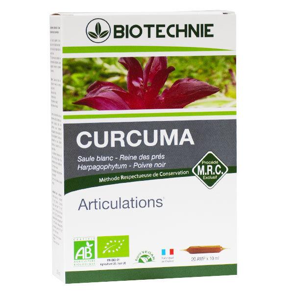 Biotechnie Curcuma Ampoules Bio 20 ampoules