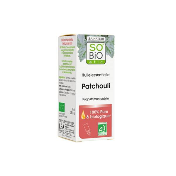 So Bio Etic Huile Essentielle Patchouli Biologique 10ml