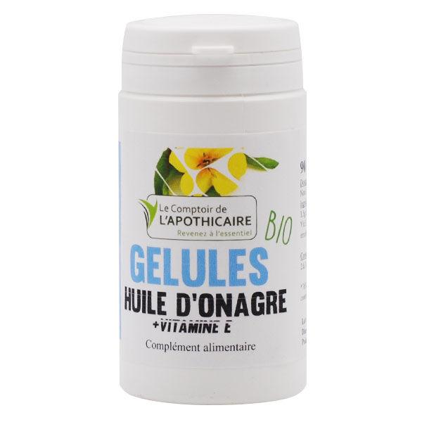 Comptoir de l Apothicaire Le Comptoir de l'Apothicaire Huile d'Onagre + Vitamine E Bio 90 gélules