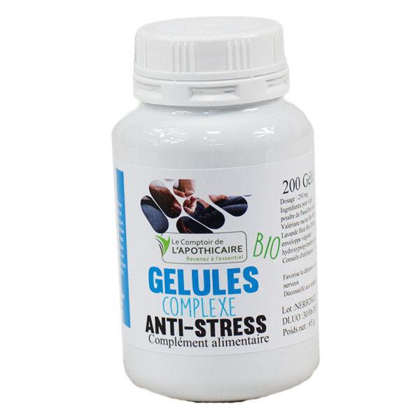 Comptoir de l Apothicaire Le Comptoir de l'Apothicaire Anti-Stress Bio 200 Gélules