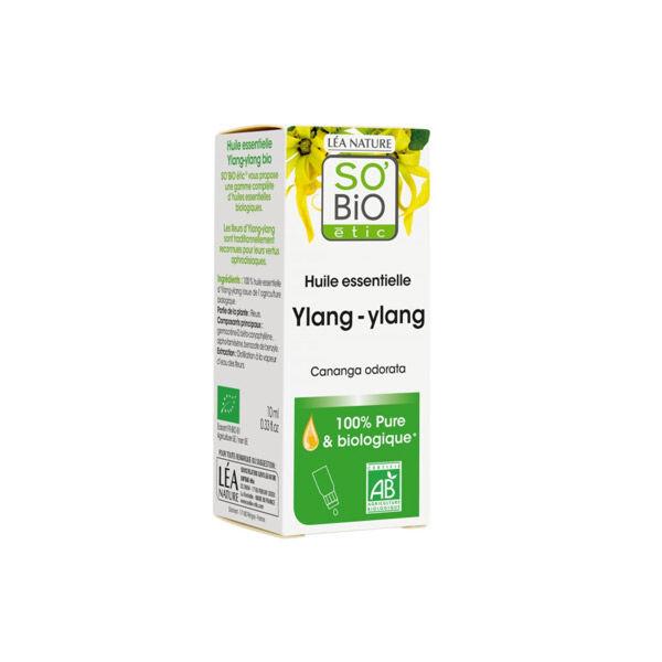 So Bio Etic So'Bio Etic Huile Essentielle Ylang-Ylang Biologique 10ml
