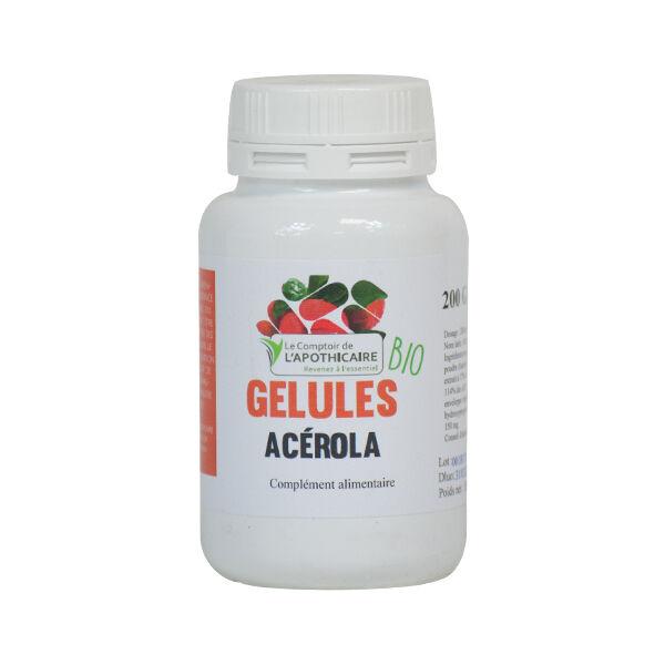 Comptoir de l Apothicaire Le Comptoir de l'Apothicaire Acerola Bio 200 gélules