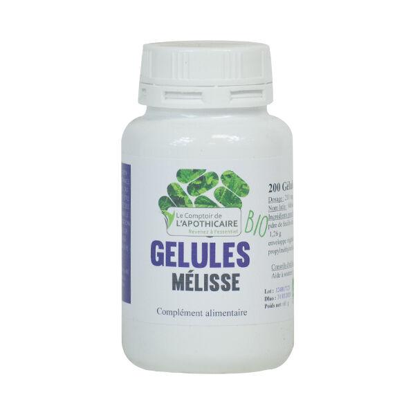 Le Comptoir de l'Apothicaire Melisse Bio 200 gélules