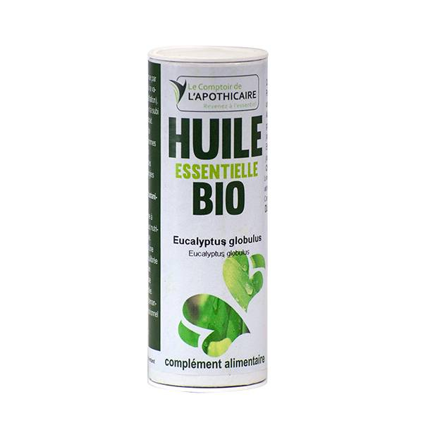 Le Comptoir de l'Apothicaire Huile Essentielle Eucalyptus Globulus Bio 10ml