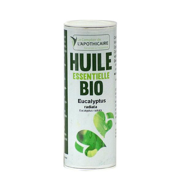 Le Comptoir de l'Apothicaire Huile Essentielle Eucalyptus Radiata Bio 10ml