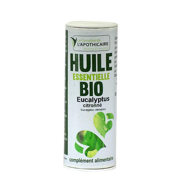 Le Comptoir de l'Apothicaire Huile Essentielle Eucalyptus Citronné Bio 10ml