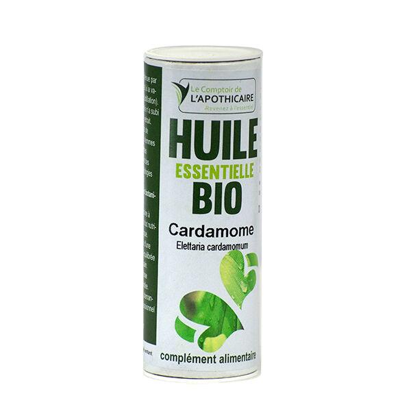 Le Comptoir de l'Apothicaire Huile Essentielle Cardamome Bio 5ml