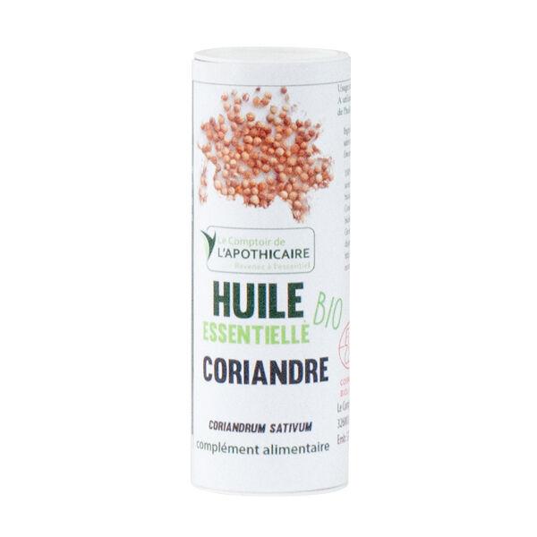 Le Comptoir de l'Apothicaire Huile Essentielle Coriandre Bio 10ml