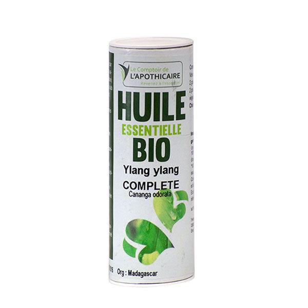 Comptoir de l Apothicaire Le Comptoir de l'Apothicaire Huile Essentielle Ylang Ylang Complète Bio 10ml