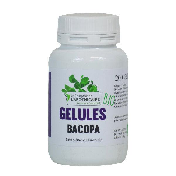 Le Comptoir de l'Apothicaire Bacopa Bio 200 gélules