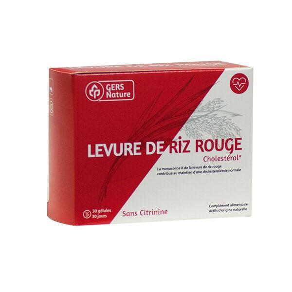 Comptoir de l Apothicaire Gers Nature Levure de Riz Rouge 30 gélules