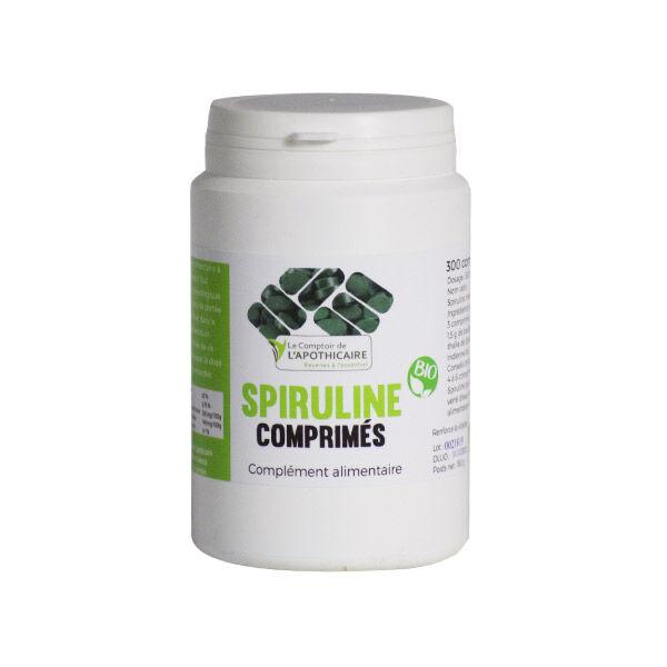 Comptoir de l Apothicaire Le Comptoir de l'Apothicaire Spiruline Bio 300 comprimés