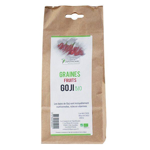 Le Comptoir de l'Apothicaire Graines Fruits Goji Bio 200g