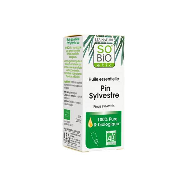 So Bio Etic So'Bio Etic Huile Essentielle Pin Sylvestre Biologique 10ml