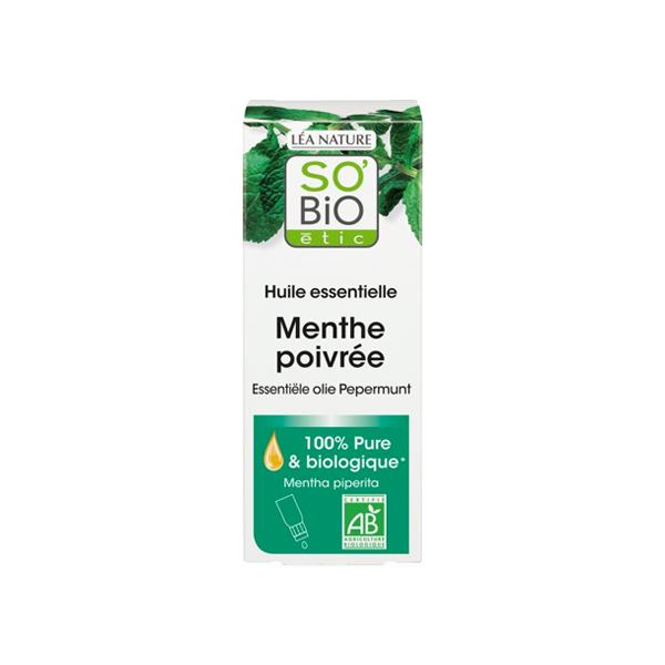 So Bio Etic So'Bio Etic Huile Essentielle Menthe Poivrée Biologique 10ml