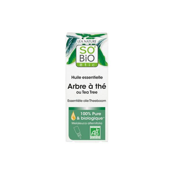 So Bio Etic So'Bio Etic Huile Essentielle Arbre à Thé Biologique 15ml