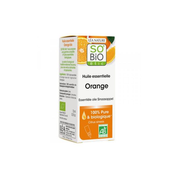 So'Bio Étic Arôma Huile Essentielle Orange Bio 15ml