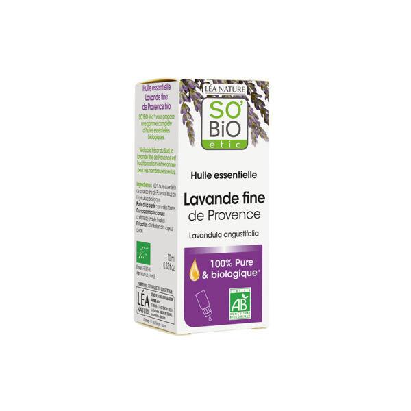 So Bio Etic So'Bio Etic Huile Essentielle Lavande Fine de Provence Biologique 10ml