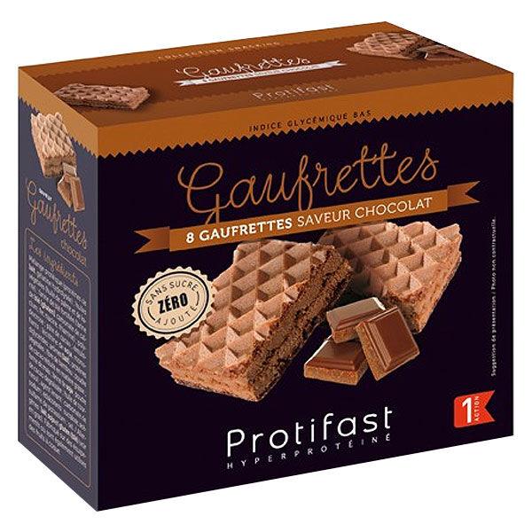 Protifast En-Cas Hyperprotéiné Gaufrettes Chocolat 8 unités