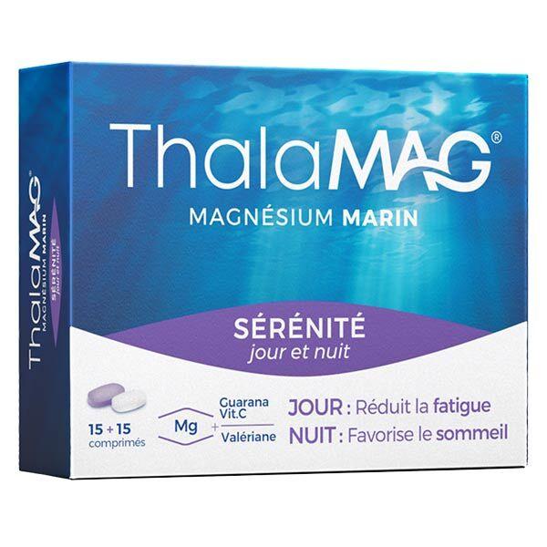 Iprad Thalamag Magnésium Marin Sérénité Jour Nuit 30 comprimés