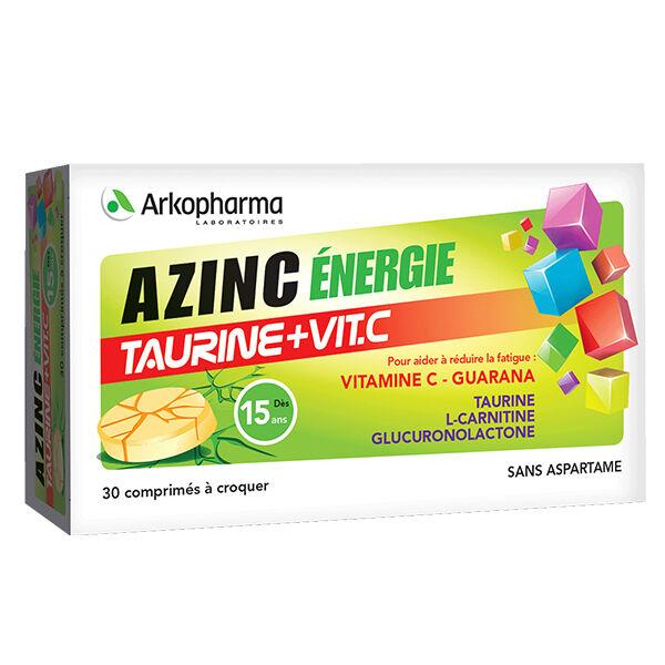 Arkopharma Azinc Energie Taurine + Vitamine C 30 comprimés
