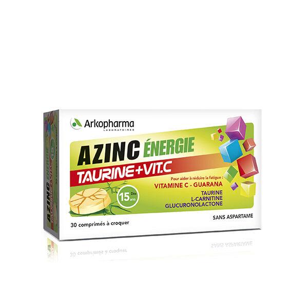 Arkopharma Azinc Energie Taurine + Vit.C 30 comprimés