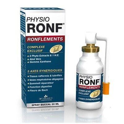 Les 3 Chênes PhysioRonf Ronflements Spray 20ml