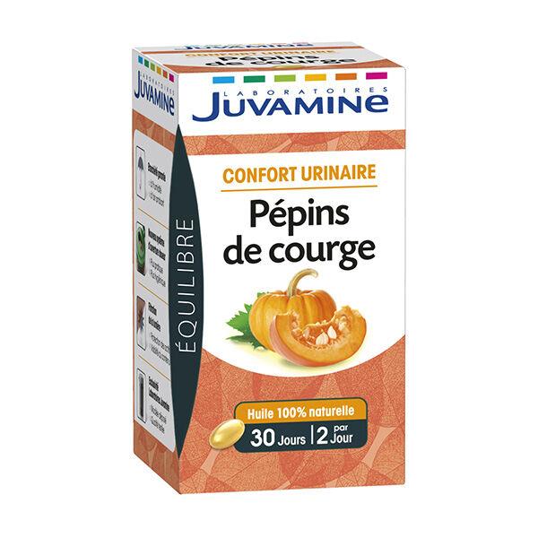 Juvamine Confort Urinaire Pépins de Courge 30 capsules
