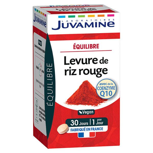 Juvamine Cholestérol Levure de Riz Rouge 30 comprimés