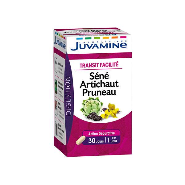 Juvamine Transit FacilitéSéné Artichaut Pruneau 30 gélules