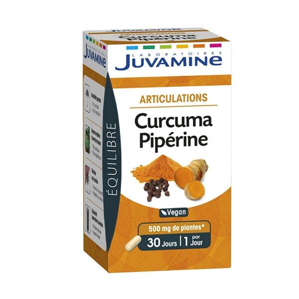 Juvamine Articulations Curcuma Piperine 30 gélules