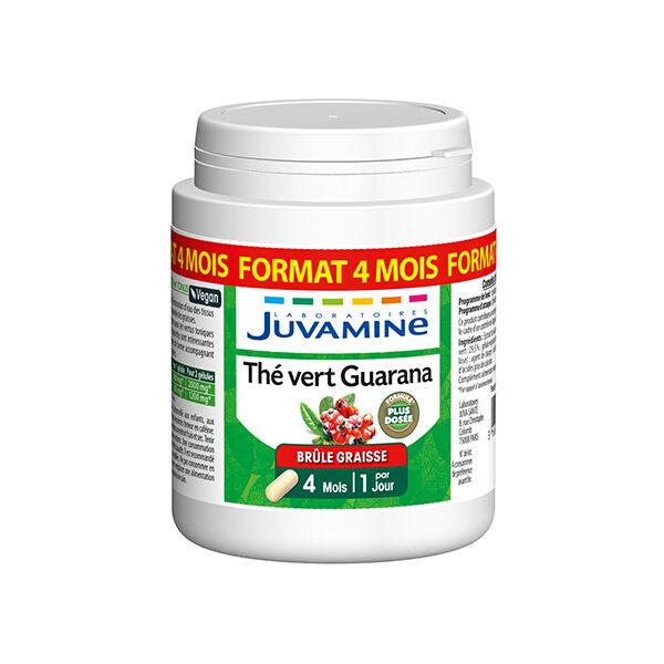 Juvamine Thé Vert Guarana 120 gélules