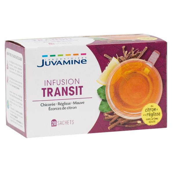 Juvamine Infusion Transit 20 sachets