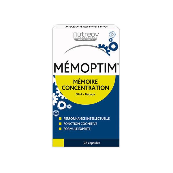 Nutreov Physcience Mémoptim Mémoire Concentration 28 capsules